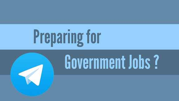 Telegram Channel for Jobs and Govt Exams